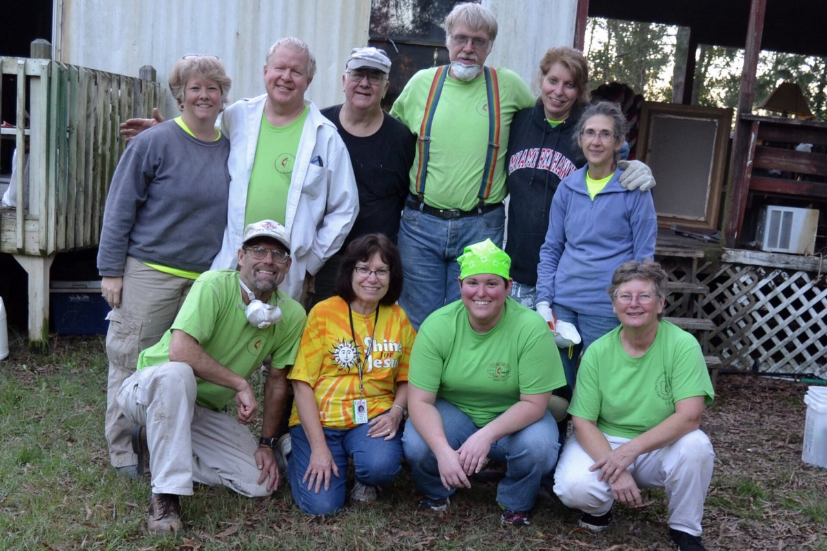 North Broadway Umc Early Response Team Serves In South